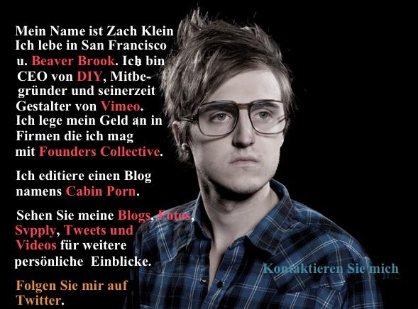 Referenzen von Zach Klein