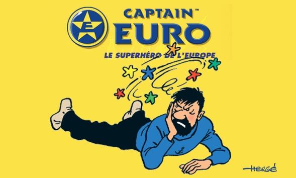 Captain Euro Quelle: Hergé u. TechCrunch