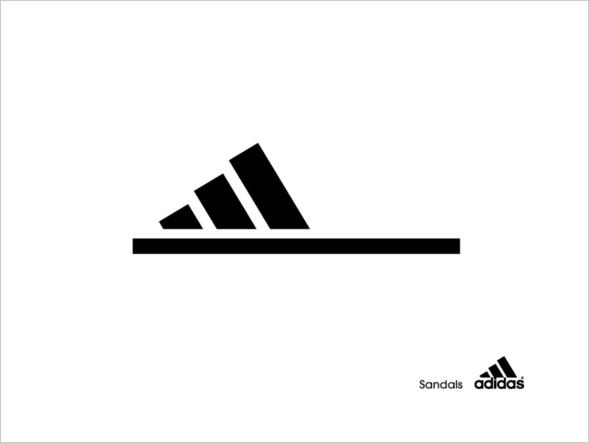 Adidas Sandalen
