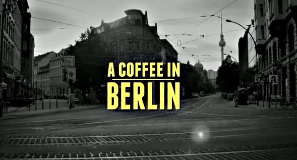 Tom Schilling. A Coffee in Berlin.