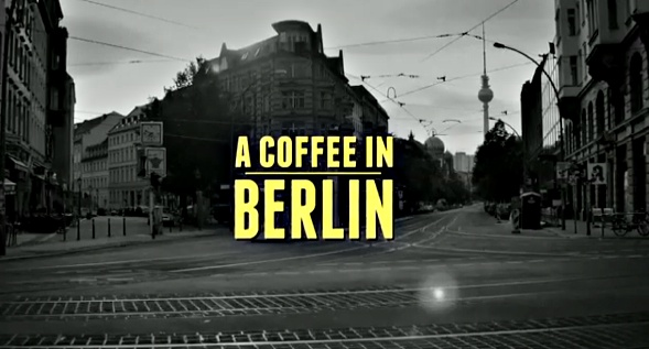 Tom Schilling. A Coffee in Berlin.