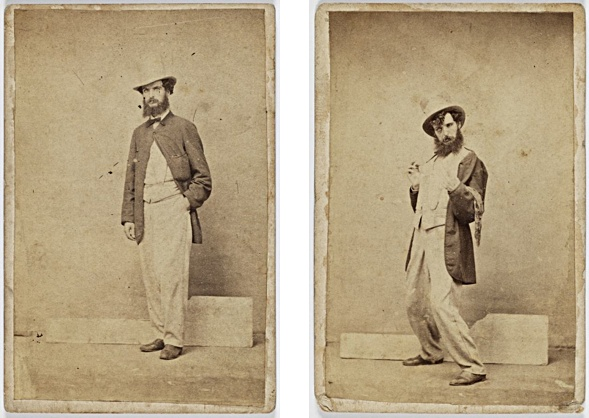 Charles Percy Pickering (1825-1908) Phasen 1 u. 2 der Trunkenheit.