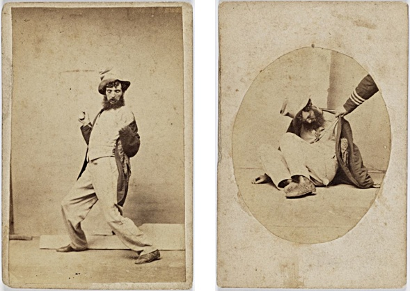 Charles Percy Pickering (1825-1908). Stages 3 and 5 of inebriation.