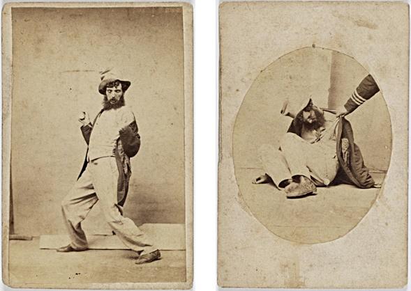 Charles Percy Pickering (1825-1908) Phasen 3 u. 5 der Trunkenheit.