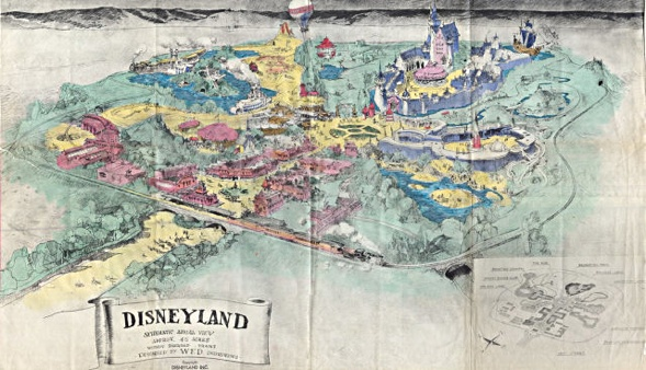 Disneyland Karte