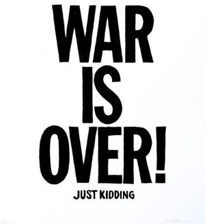 Der Krieg ist vorüber von Vincent Valdez.