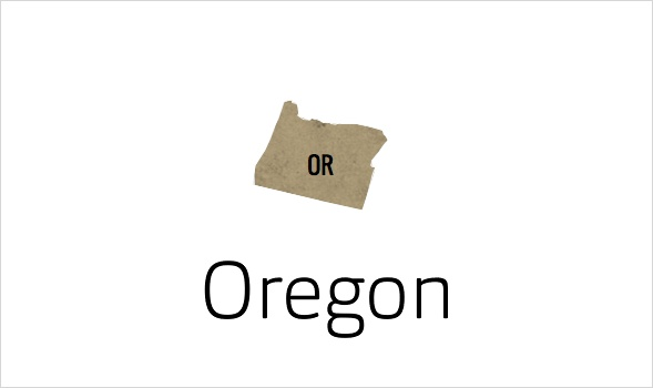 Organ Schrift für Oregon
