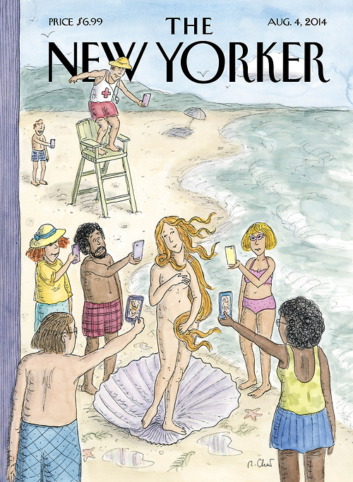 "Roz Chast's ""Venus on the Beach"""