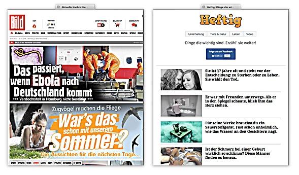 Bild.de u. Heftig.co