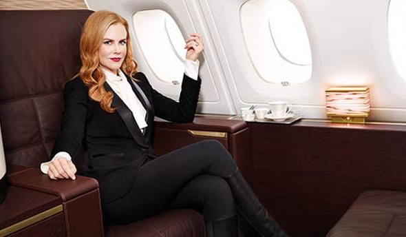 Nicole Kidman © Photo: Etihad Airways