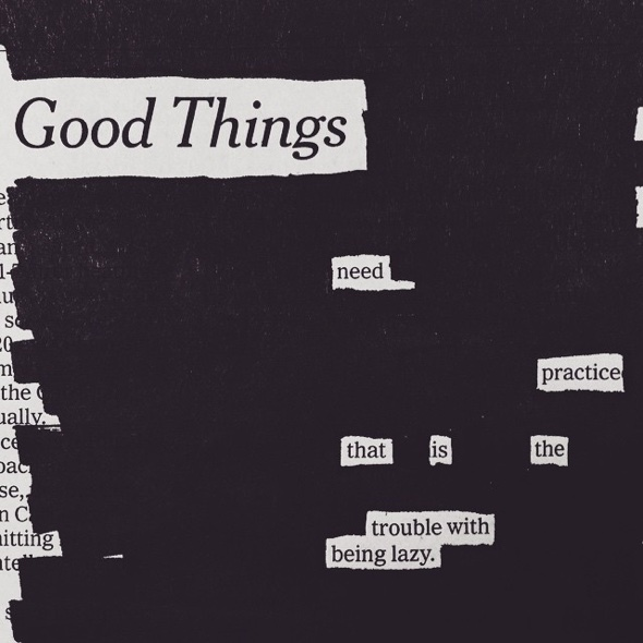 Good Things by Austin Kleon