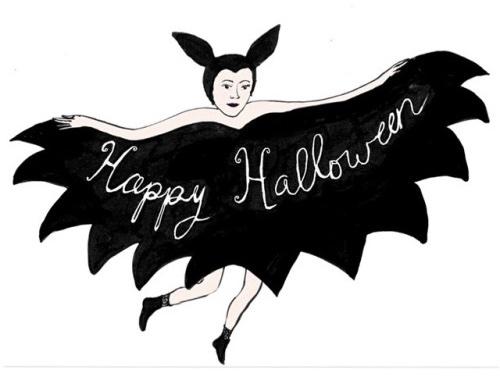 Happy Halloween Illustration: Elizabeth Currier