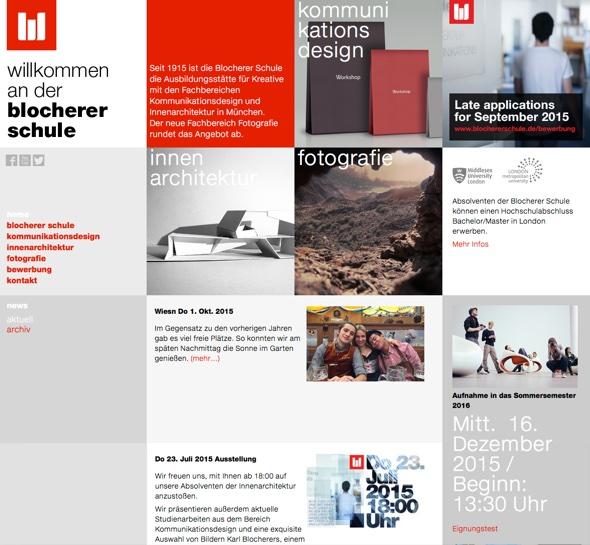 blochererschule.de: Meine alte Schule in der neuen Welt.