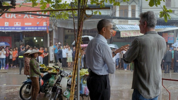 Barak Obama und Anthony Bourdain - Supernormal in Hanoi