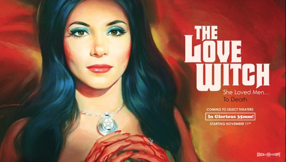 "Filmposter ""The Love Witch"""