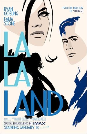 La La Land Filmplakat