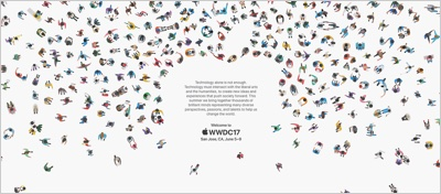 Geoff McFetridge, Apple WWDC17
