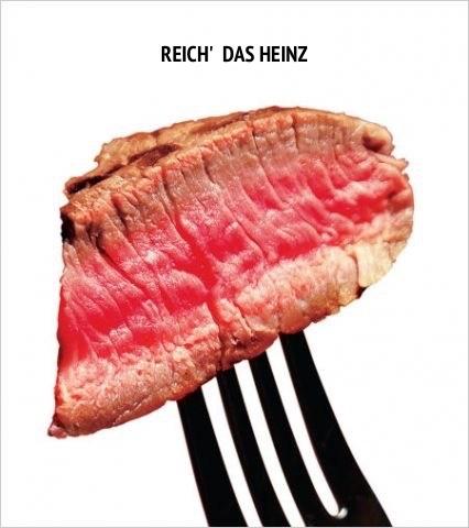Reich' das Heinz Anzeige