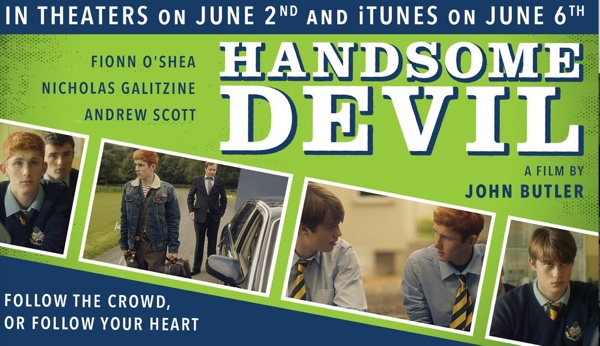 Handsome Devil film billboard