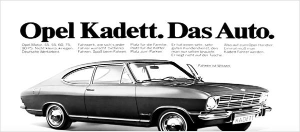 Opel Kadett. Das Auto.