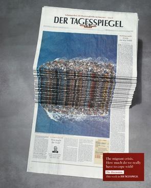Tagesspiegel Anzeige Flüchtlingskrise