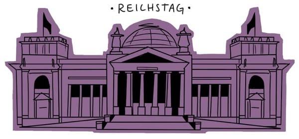 Reichstag by Niki Smith