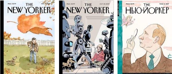 New Yorker Magazin Augaben