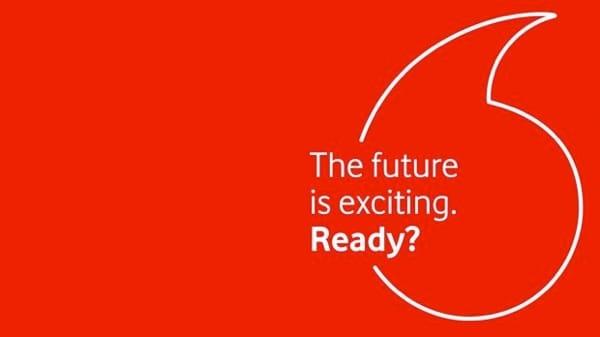 Vodafone's Versucht die Markenprägung aufzufrischen