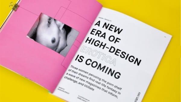 Neue Ära von hoch erotischer Gestaltung steht an. Quelle: AIGA.