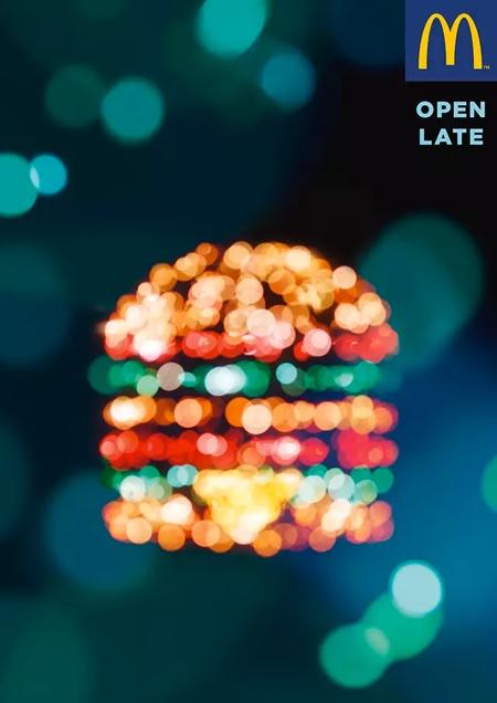 McDonald's Paris bemüht sich um Nachtschwärmer, den Barbesuche machen hungrig.