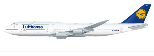 Lufthansa Lackierung vorher