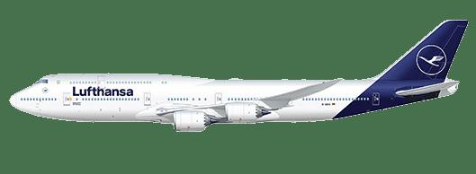Lufthansa Lackierung nachher