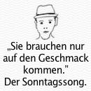 It Only Takes A Taste ~ Sara Bareilles und Jason Mraz. Der Sonntagssong.