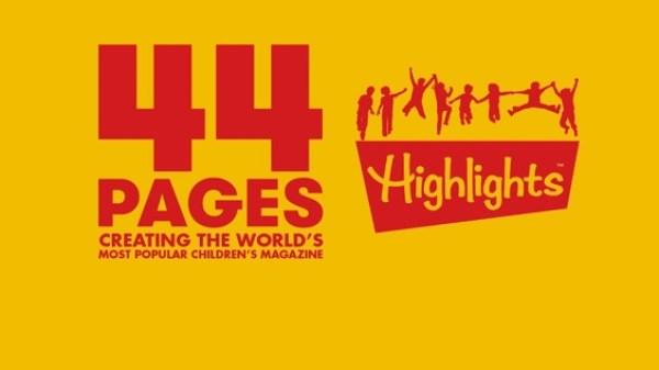Filmplakat für die Kinodokumentation über das Highlights Kindermagazin.
