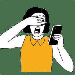 Räuber und Beute Auge um Auge (Quelle: New Yorker Magazin)