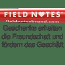 Kostenloser, roter Kugelschreiber beim Kauf eines Field Notes Produkt am Valentinstag. Dabei dient die Idee der Darstellung in Herzform der Markenprägung.