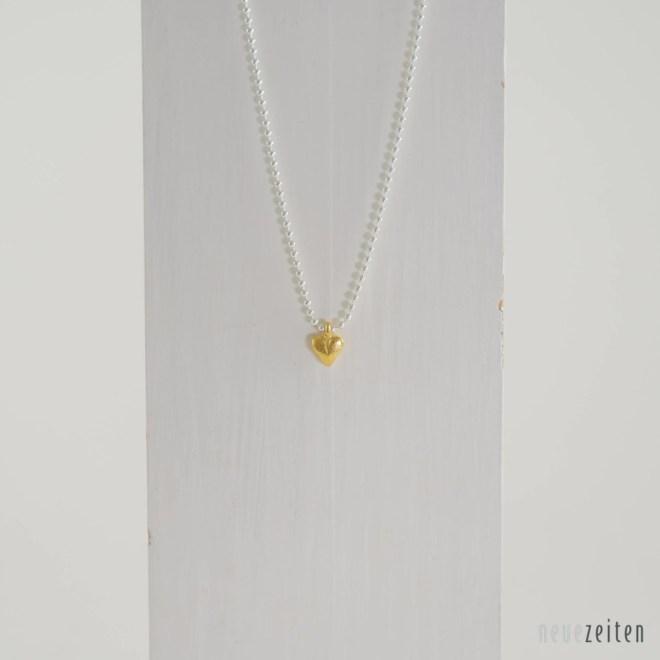 Produktbild Minimo - Kette Herz Gold