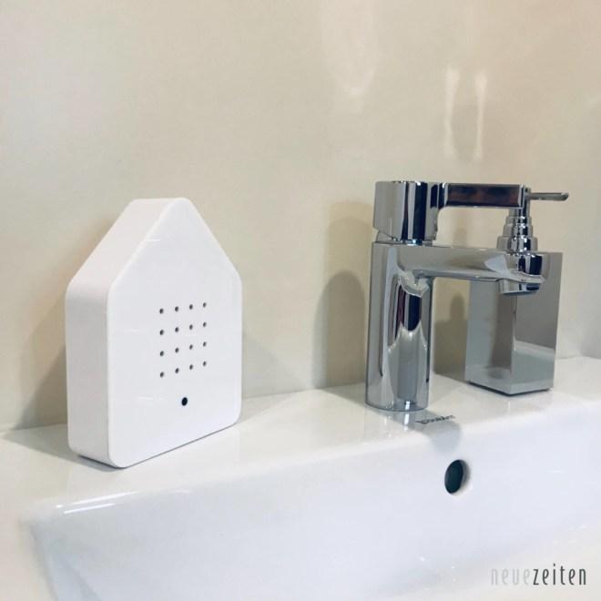 Beitragsbild Zwitscherbox Weiss im Bad