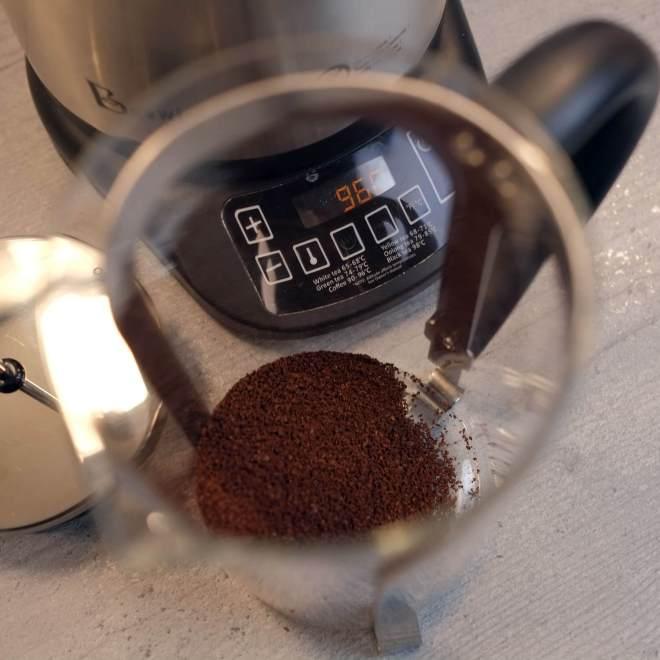 Beitragsbild - French Press Kaffee - Kaffeepulver