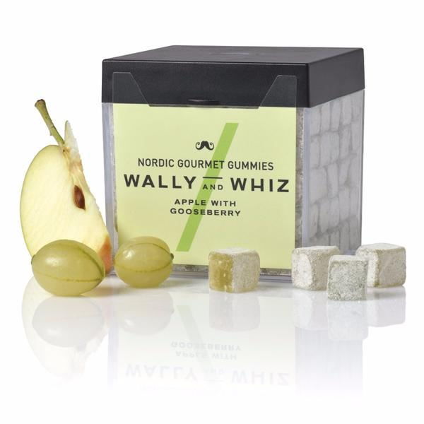 Produktbild - Weingummi - Wally and Whiz - Apfel mit Stachelbeere