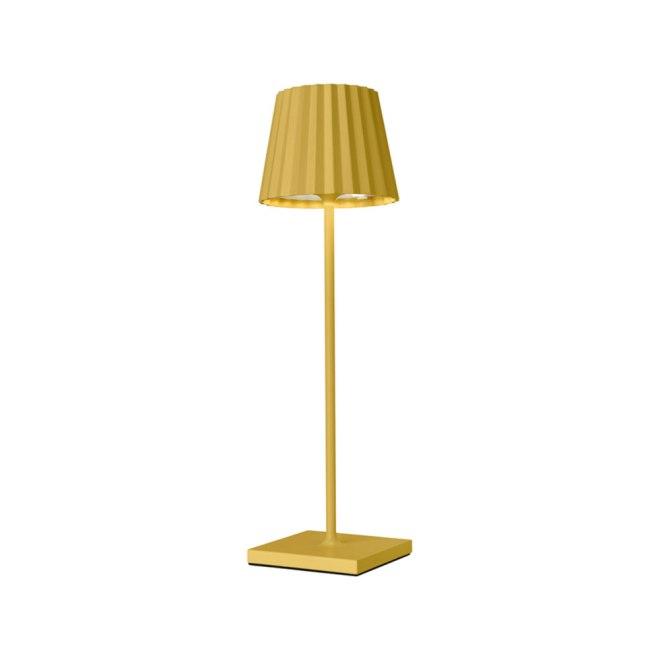 Sompex Troll LED Gartentischleuchte gelb