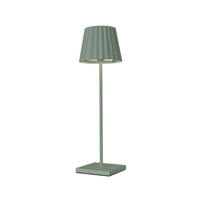 Sompex Troll LED Gartentischleuchte grün