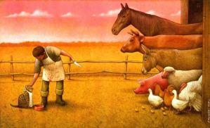 Czy krowa naprawdę chciała być zjedzona?