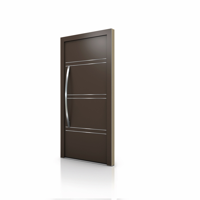 HT 400 Wood Aluminum Entrance Door