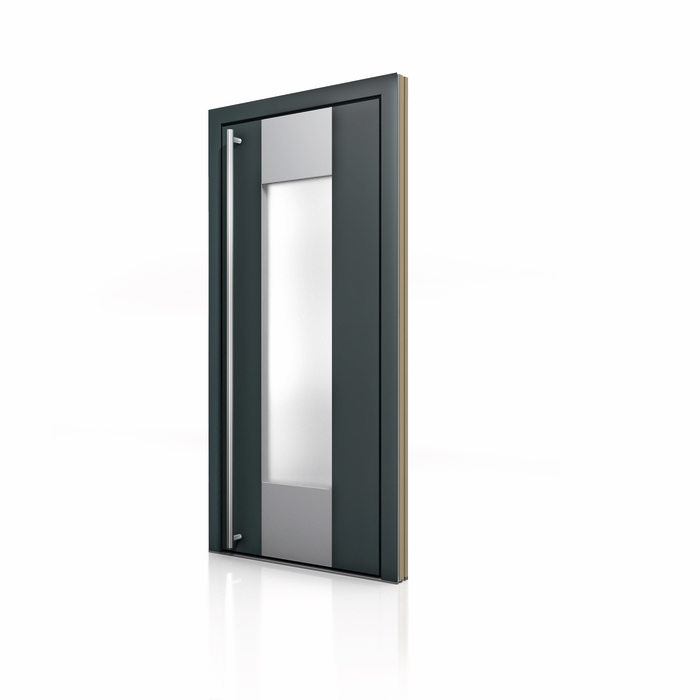 HT 400 Wood Aluminum Entrance Door Glass Insert