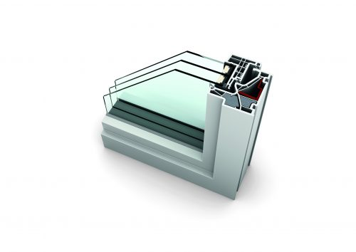KF500 HomePure UPVC Windows