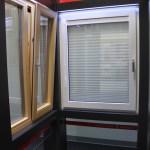 Tilt-and Turn Windows with Integrated Blinds NeuFenster Windows and Doors