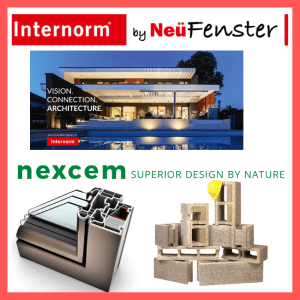 Partnership between Internorm by NeuFenster and Nexcem ICF Manufacturers