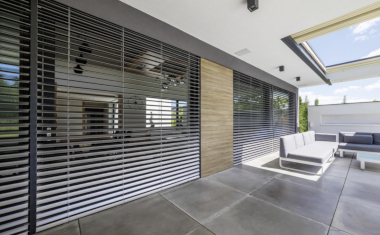 Electric Roller Shades Energy Efficient Shading for Smart Homes Temperature Regulation