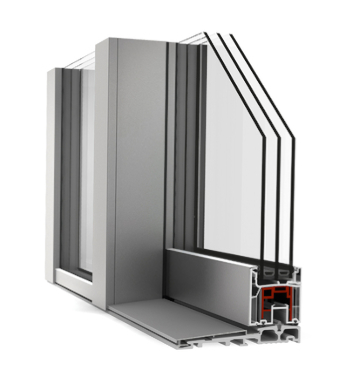 European Lift and Slide Doors High Performance Low U Value Upvc Aluminum Sliding Patio Doors